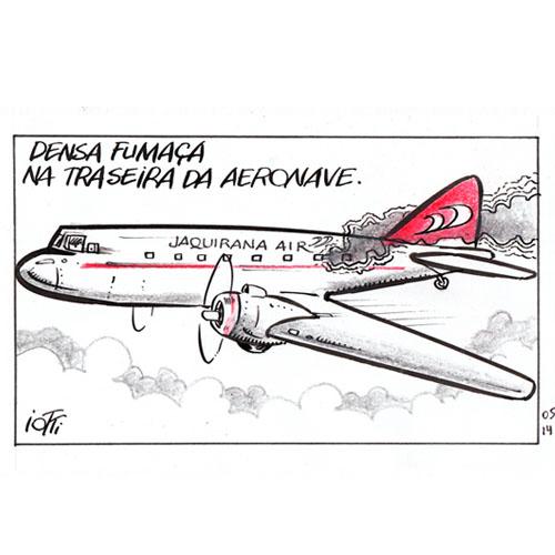 Tirinha original Jaquirana Air