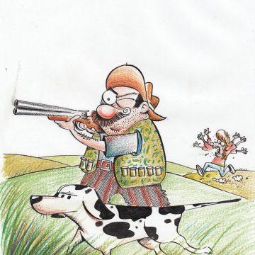 Ilustração original Radicci