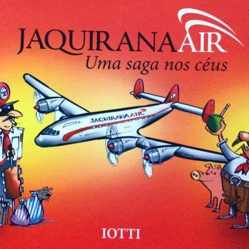 Capa do Livro Jaquirana Air: Uma saga nos céus