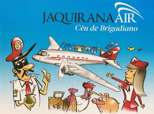 Capa do gibi Jaquirana Air: Céu de brigadeiro