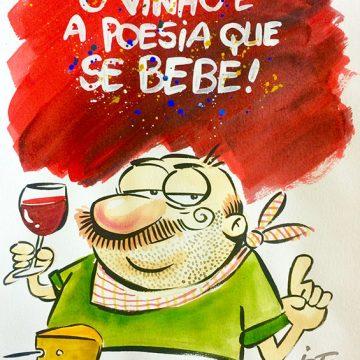 Radicci: O vinho é poesia que se bebe