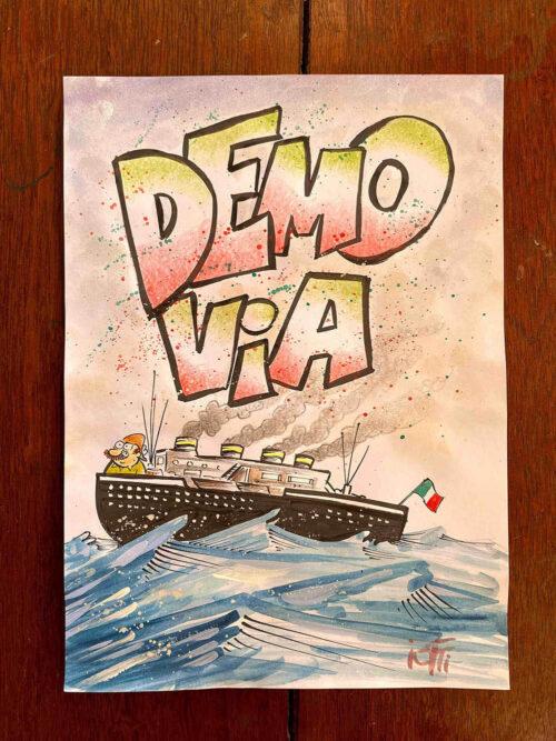 Ilustração do Radicci: Demo Via