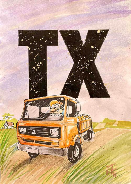 Ilustração do Radicci: TX