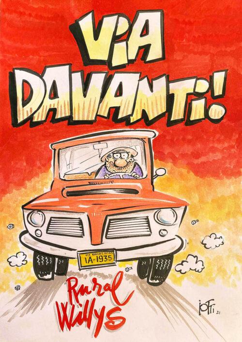Ilustração do Radicci: Via Davanti